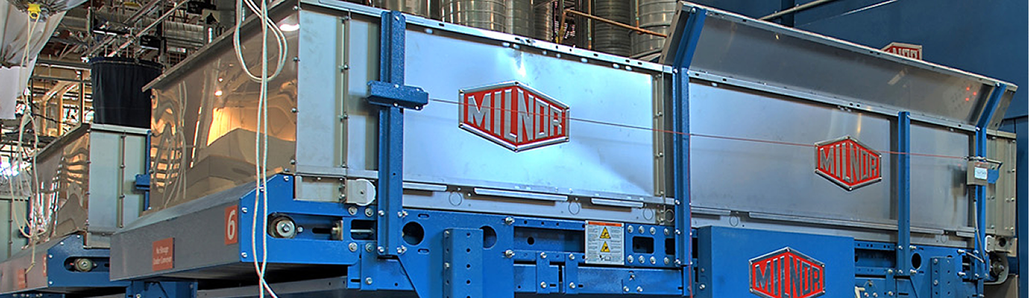 industrial laundry equipment milnor