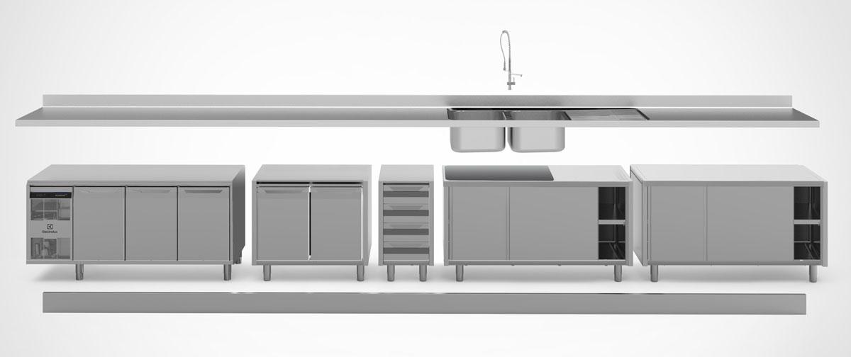 industrial kitchen equipment electrolux